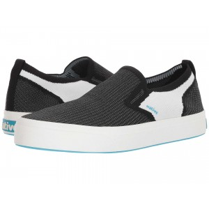 Native Shoes Miles 2.0 Liteknit Jiffy Black/Shell White/Shell White