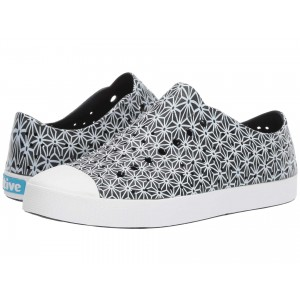 Jefferson Jiffy Black/Shell White/Asanoha Print