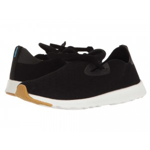 Native Shoes Apollo Moc Jiffy Black/Shell White/Natural Rubber 2