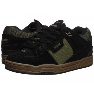 Fusion Black Action Nubuck/Olive Synthetic Nubuck