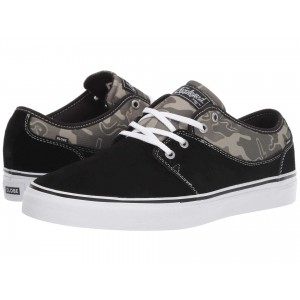 Mahalo Black Shaved Suede/Green Camo Ripstop Nylon