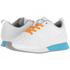 Native Shoes Cornell Shell White CT/Shell White/Surfer Blue/Pigeon Rubber
