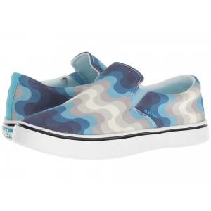 Native Shoes Miles Denim Print White Wash/Shell White/Surfer Wave