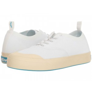 Native Shoes Jefferson Plimsoll Shell White/Bone White
