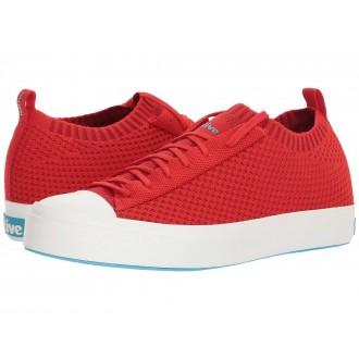 Native Shoes Jefferson 2.0 Liteknit Torch Red/Shell White