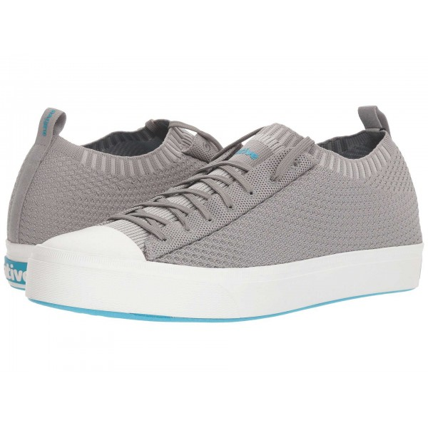 Native Shoes Jefferson 2.0 Liteknit Pigeon Grey/Shell White