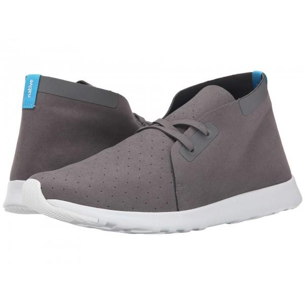 Native Shoes Apollo Chukka Dublin Grey/Shell White/Shell White Rubber