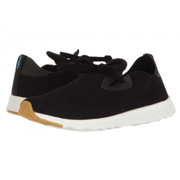 Native Shoes Apollo Moc Jiffy Black/Shell White/Natural Rubber 2