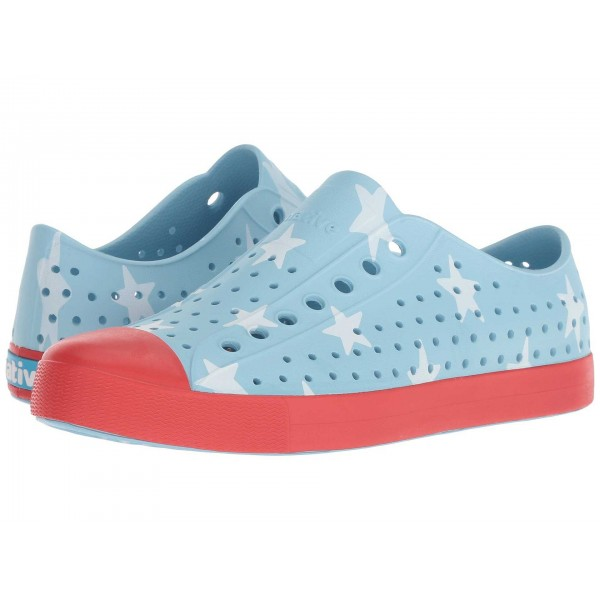 Native Shoes Jefferson Sky Blue/Torch Red/Big Star