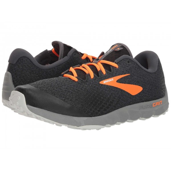 PureGrit 7 Black/Orange/Grey