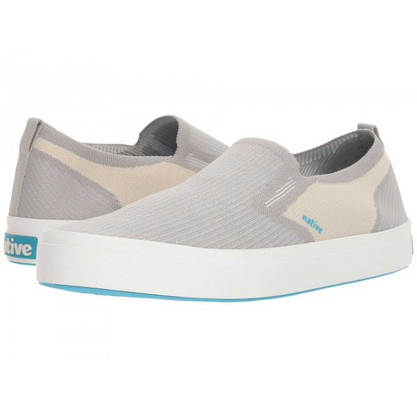 Native Shoes Miles 2.0 Liteknit Pigeon Grey/Bone White/Shell White
